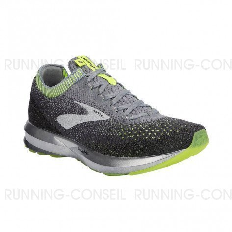 BROOKS LEVITATE 2 Homme | Grey / Nightlife / Black