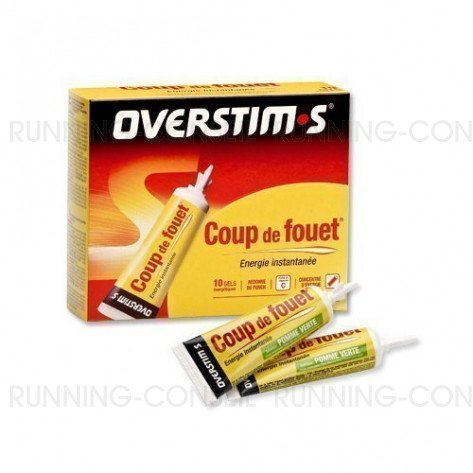 Coup de fouet citron Overstim's - Gels énergétiques