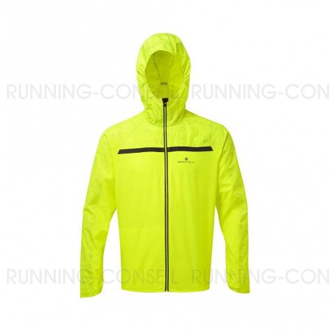 RONHILL Veste Momentum Afterlight Homme | Fluo yellow Reflect