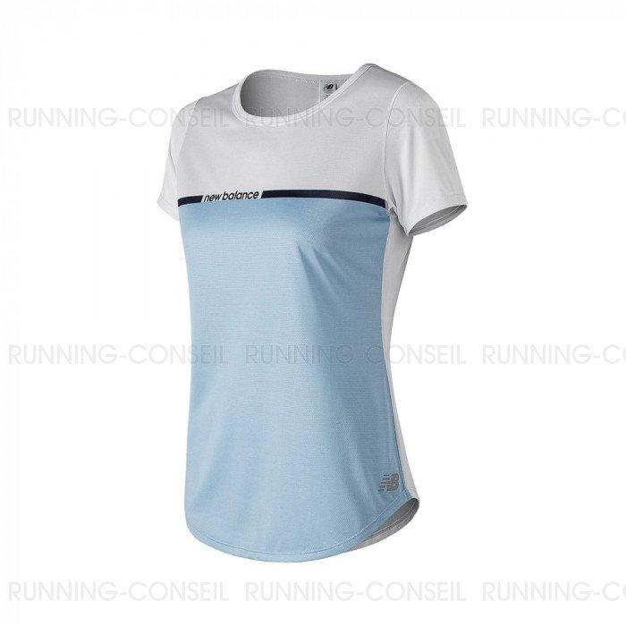 t shirt running new balance homme