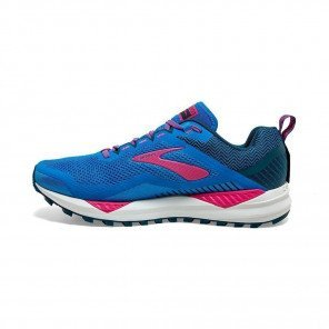 BROOKS CASCADIA 14 Femme | Blue Aster/Beetroot/Grey