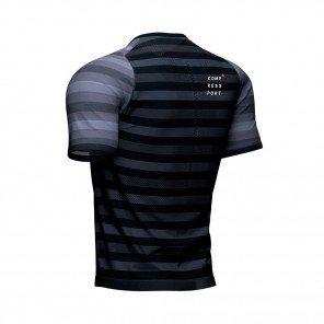 COMPRESSPORT Tee-shirt manche courte RACING Homme   Noir