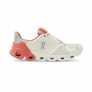 ON RUNNING Cloudflyer Femme White | Coral