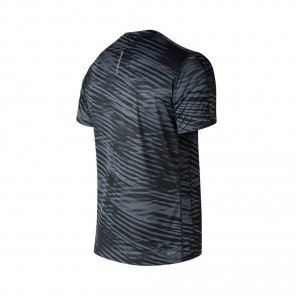 NEW BALANCE Tee-Shirt manches courtes PRINTED ACCELERATE Homme | Black and White