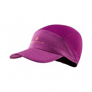 RONHILL CASQUETTE SPLIT AIR LITE Femme | GRAPE JUICE/HOT CORAL