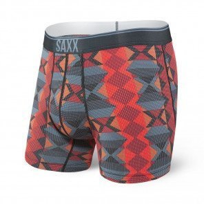 SAXX UNDERWEAR Quest boxer brief fly Homme | Blue Dot Novajo