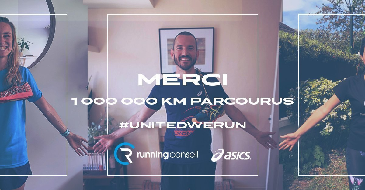 United We Run Asics x Running Conseil